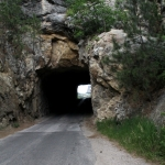 The 3rd tunnel on Iron Mt. Road