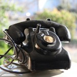 1930's hand-crank office phone/ front