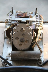 1930's hand-crank office phone/ internals